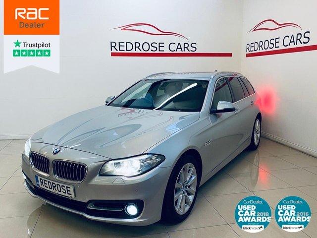 USED 2014 14 BMW 5 SERIES 2.0 520D SE TOURING 5d 181 BHP FULL SERVICE, 2 KEYS, NICE CAR