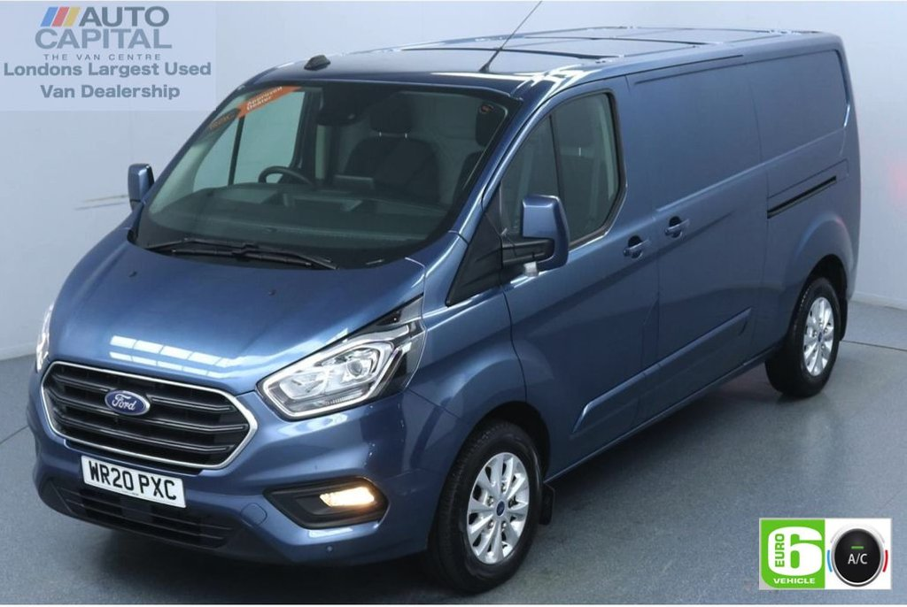 USED 2020 20 FORD TRANSIT CUSTOM 2.0 320 Limited EcoBlue 130 BHP L2 H1 Euro 6 Low Emission Sat Nav | Eco Mode | Auto Start-Stop | Front and rear parking distance sensors