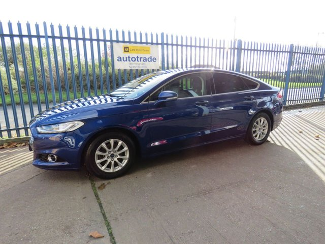USED 2015 65 FORD MONDEO 2.0 TITANIUM ECONETIC TDCI 5d 148 BHP Just £20 Road Tax,SatNav,Leather Interior,History
