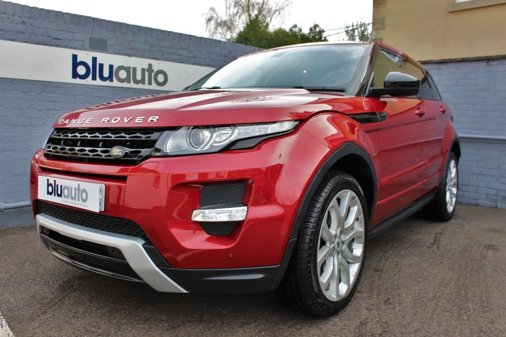 USED 2014 64 LAND ROVER RANGE ROVER EVOQUE 2.2 SD4 DYNAMIC 5d 190 BHP Full Land Rover History, £2200 of Extras, Immaculate Condition