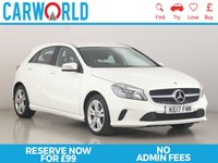 USED 2017 17 MERCEDES-BENZ A-CLASS 1.5 A 180 D SPORT 5d 107 BHP 1 OWNER   LEATHER   REV CAM  