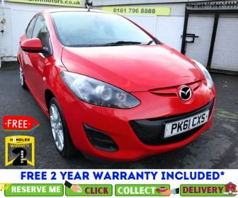 USED 2011 61 MAZDA 2 1.3 TAMURA 5d 83 BHP *CLICK & COLLECT OR DELIVERY