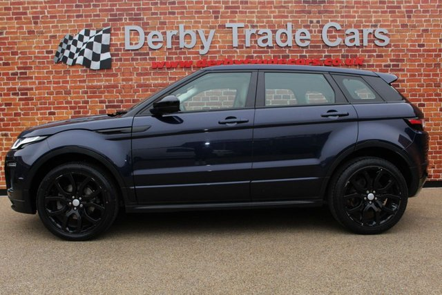 LAND ROVER RANGE ROVER EVOQUE at Derby Trade Cars