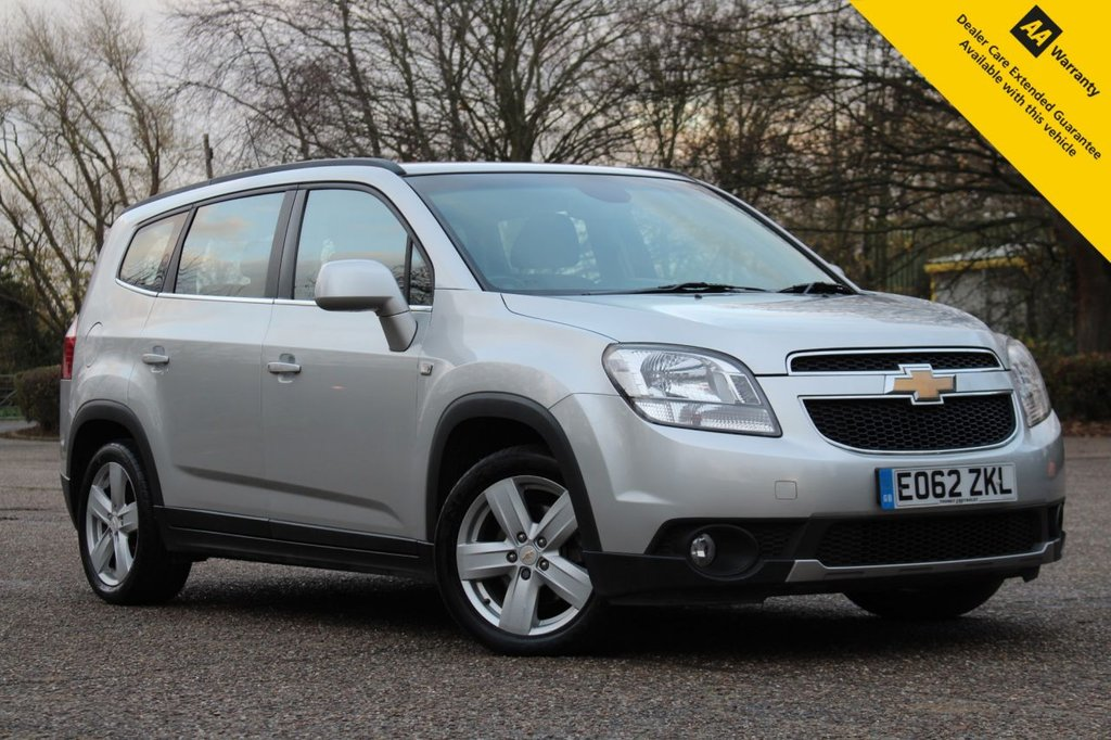 USED 2012 62 CHEVROLET ORLANDO 1.8 LTZ 5d 141 BHP ** 1 OWNER FROM NEW 7 SEATER ** STUNNING  LOW MILEAGE ** FRESHLY SERVICED ** LONG MOT - AUGUST 2021 ** REAR PARKING AID ** CRUISE CONTROL ** AUTO LIGHTS ** POWER FOLD MIRRORS ** ULEZ CHARGE EXEMPT ** £0 DEPOSIT FINANCE AVAILABLE ** CLICK & COLLECT AVAILABLE ** NATIONWIDE DELIVERY AVAILABLE **