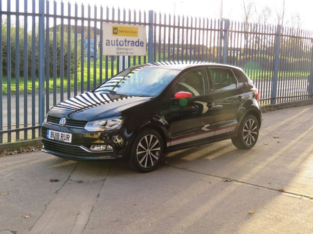 USED 2018 18 VOLKSWAGEN POLO 1.2 R LINE TSI 5 dr 89 BHP Low Miles,Beatsaudio Trim with service history