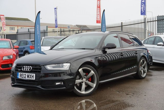 USED 2012 12 AUDI A4 2.0 AVANT TDI QUATTRO BLACK EDITION 5d 174 BHP STUNNING EXAMPLE, DRIVES SUPERB