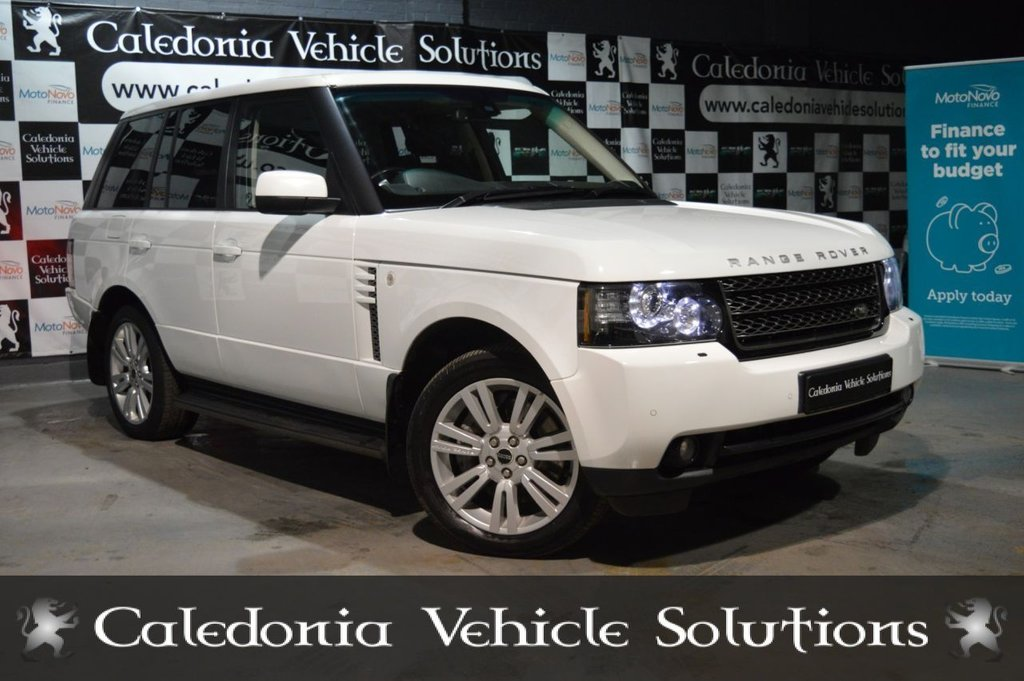 USED 2012 12 LAND ROVER RANGE ROVER 4.4 TDV8 VOGUE 5d 313 BHP STUNNING EXAMPLE, A REAL HEAD TURNER, THIS CAR WILL COME WITH 12 MONTHS MOT & SERVICE HISTORY