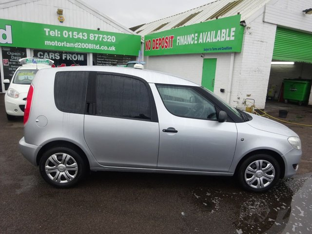 USED 2013 13 SKODA ROOMSTER 1.2 S TSI 5d 84 BHP **CLICK AND COLLECT ON YOUR NEXT CAR**