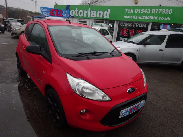 USED 2014 14 FORD KA 1.2 GRAND PRIX III 3d 69 BHP **CLICK AND COLLECT ON YOUR NEXT CAR**