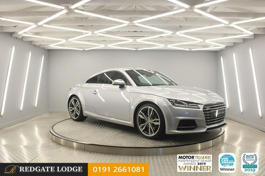 USED 2015 15 AUDI TT 2.0 TTS TFSI QUATTRO 2d 306 BHP SAT/NAV, LEATHER, BLUETOOTH, DAB, TINTED GLASS, DIAMOND CUT ALLOYS....