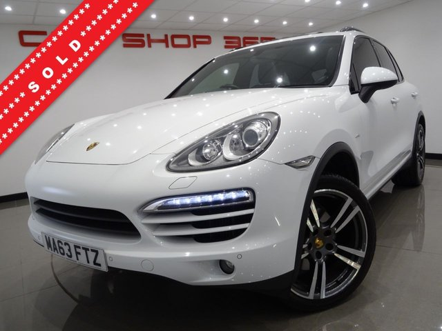 USED 2013 63 PORSCHE CAYENNE 3.0 TD V6 (245 BHP) TIPTRONIC S AWD..�£23,000 EXTRAS..NAV..BOSE..E/SUNROOF..E/M/HEATED LEATHERS..AIR SUSPENSION...CRUISE..21 INCH ALLOYS..XENONS..LEDS..PARK ASSIST..PRIVACY..POWER BOOT SUNROOF+21+PARK+XENON+LEATHERS+NAV+CRUISE+AIR SUSP.