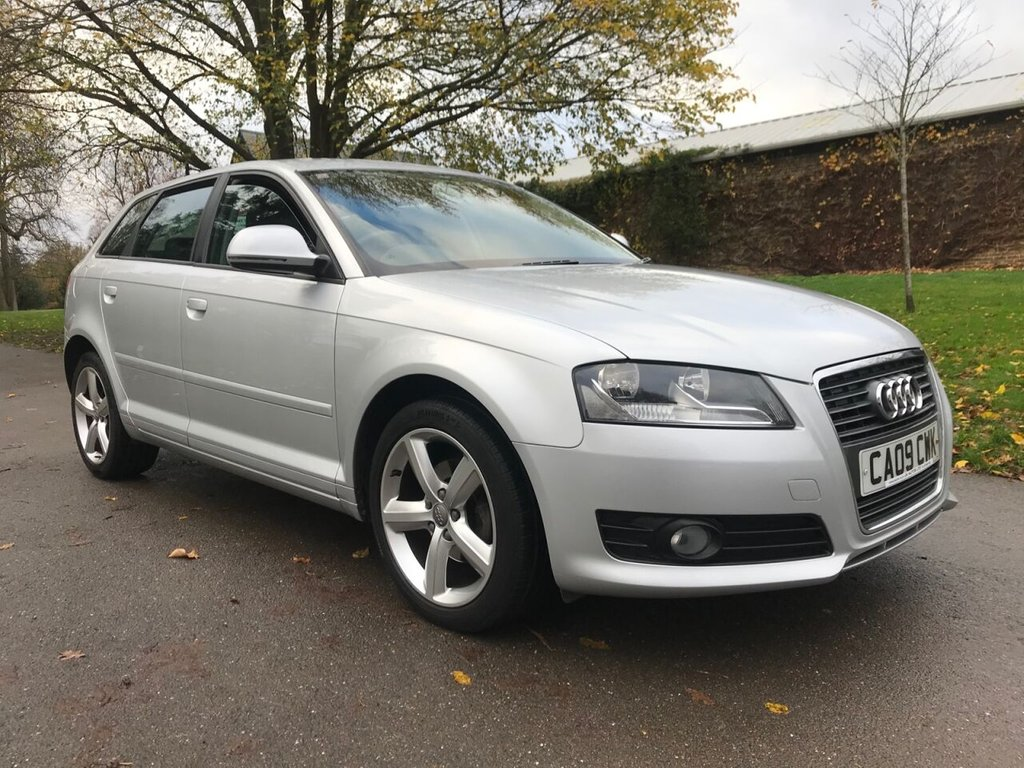 USED 2009 09 AUDI A3 1.6 SPORTBACK MPI SE TECHNIK 5d 101 BHP Great Value A3 !
