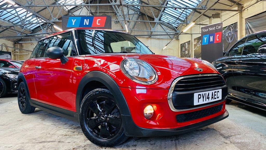 USED 2014 14 MINI HATCH ONE 1.2 One (s/s) 3dr JETBLACKWHEELS!+DAB+BLUETOOTH
