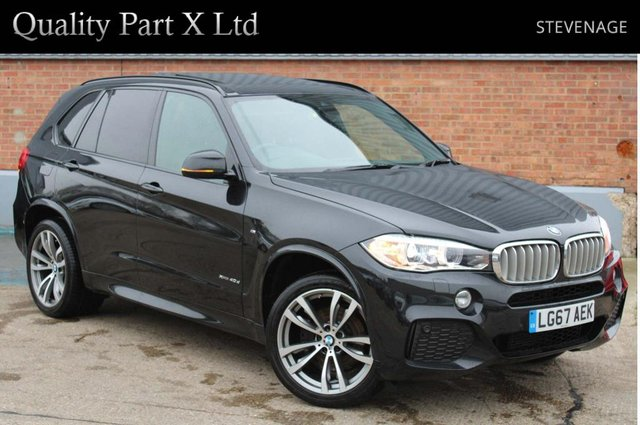 USED 2017 67 BMW X5 3.0 40d M Sport Auto xDrive (s/s) 5dr SATNAV,BLUETOOTH,XENON,CAMERA