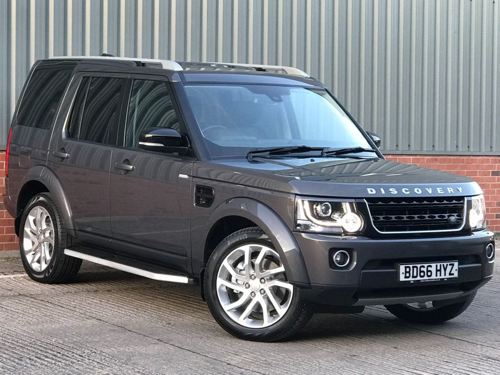 USED 2016 66 LAND ROVER DISCOVERY 3.0 SDV6 LANDMARK 5d 255 BHP FANTASTIC LOW MILEAGE EXAMPLE