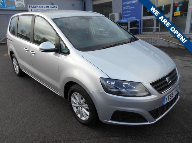 USED 2016 66 SEAT ALHAMBRA 2.0 TDI ECOMOTIVE S 5d 150 BHP FANTASTIC CONDITION AND DRIVE