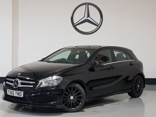 USED 2015 65 MERCEDES-BENZ A-CLASS 2.1 A200 CDI AMG SPORT 5d 136 BHP 1 Prev Owner/Sat-Nav/Park Sensors/Cruise/Half Leather