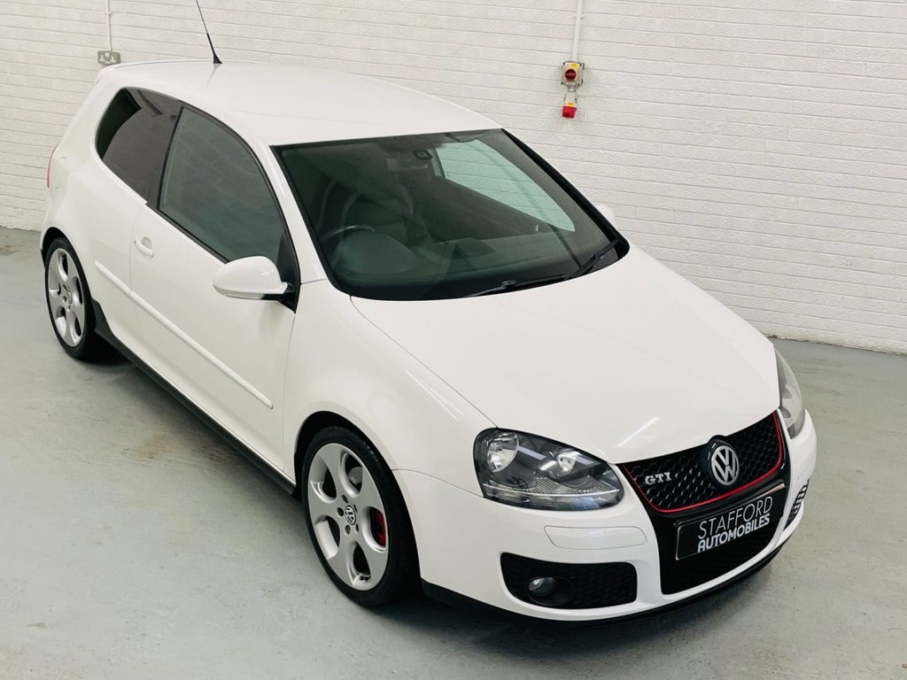 USED 2008 08 VOLKSWAGEN GOLF 2.0 GTI 3d 197 BHP HEATED LEATHER, 18IN ALLOYS, FINANCE AVAILABLE