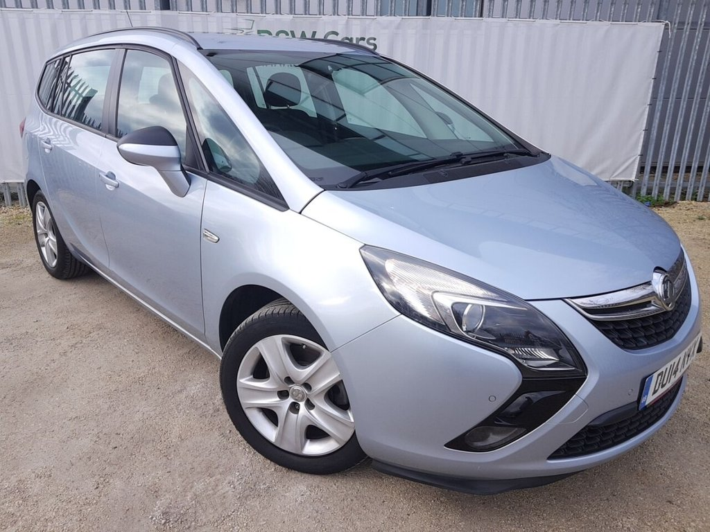USED 2014 14 VAUXHALL ZAFIRA TOURER 2.0 EXCLUSIV CDTI 5d 162 BHP **LIVE VIDEO WALK AROUND AVAILABLE**
