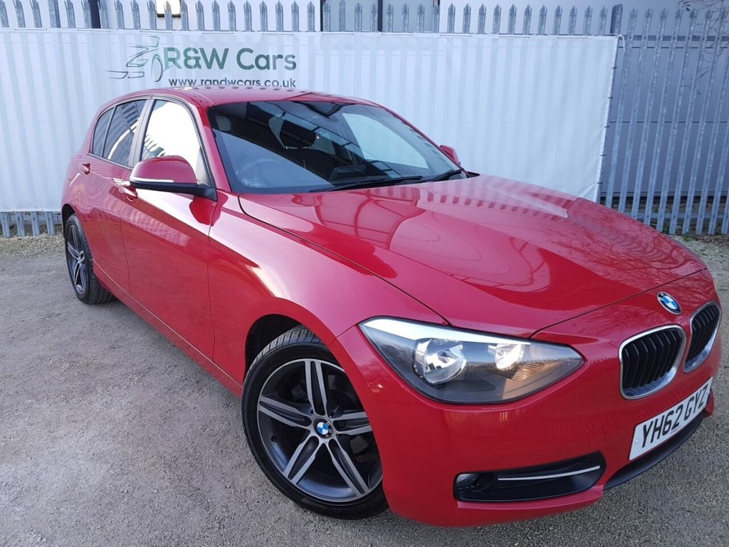 USED 2012 62 BMW 1 SERIES 2.0 116D SPORT 5d 114 BHP