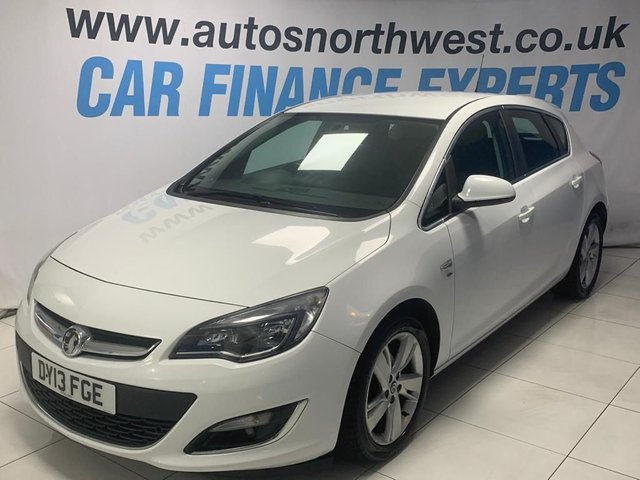 VAUXHALL ASTRA at Autos North West