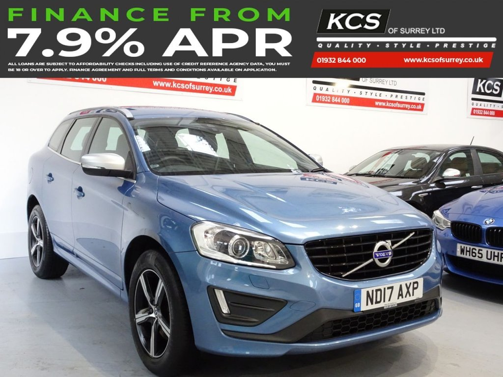USED 2017 17 VOLVO XC60 2.0 T5 R-DESIGN LUX NAV 5d 240 BHP SAT NAV - XENONS - LEATHER