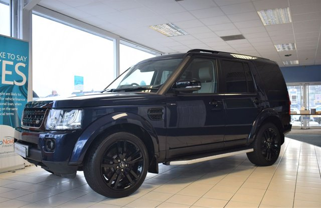 2015 65 LAND ROVER DISCOVERY 4 3.0 SDV6 HSE LUXURY 5d 255 BHP BLACK PACK