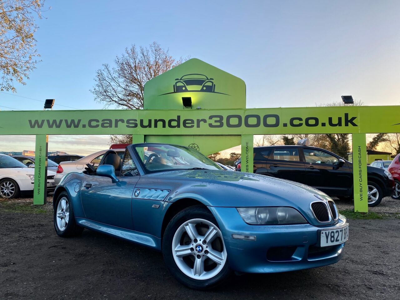 2001 Blue Bmw Z3 Z3 Roadster 5000 Rayleigh Cars Under 3000