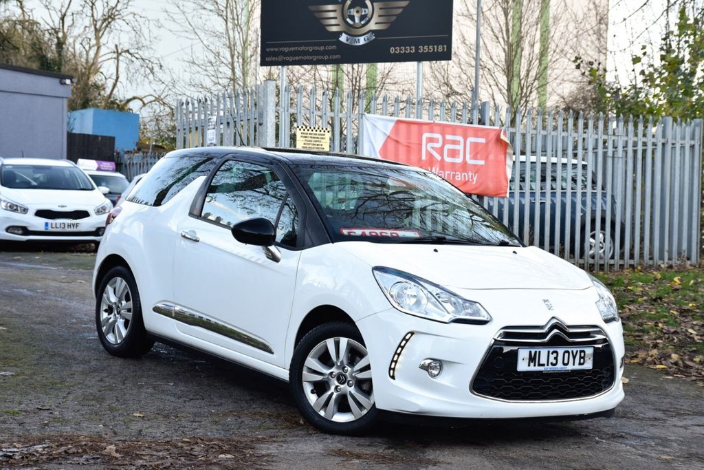 USED 2013 13 CITROEN DS3 1.6 DSTYLE 3d 120 BHP