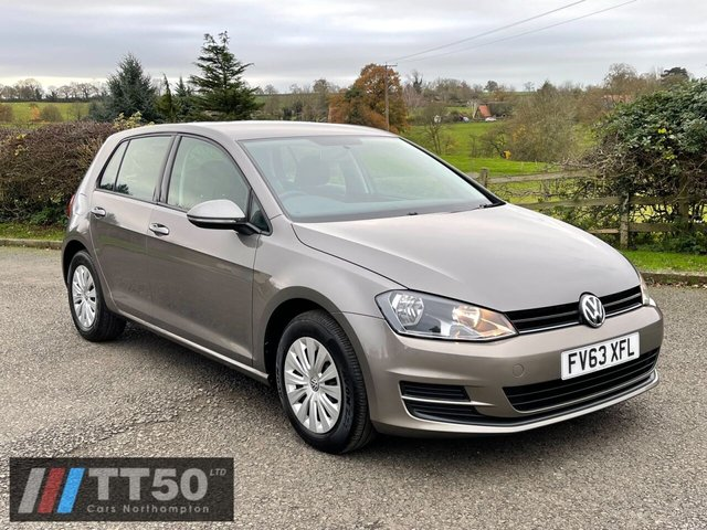2013 63 VOLKSWAGEN GOLF 1.4 S TSI BLUEMOTION TECHNOLOGY DSG 5d 120 BHP