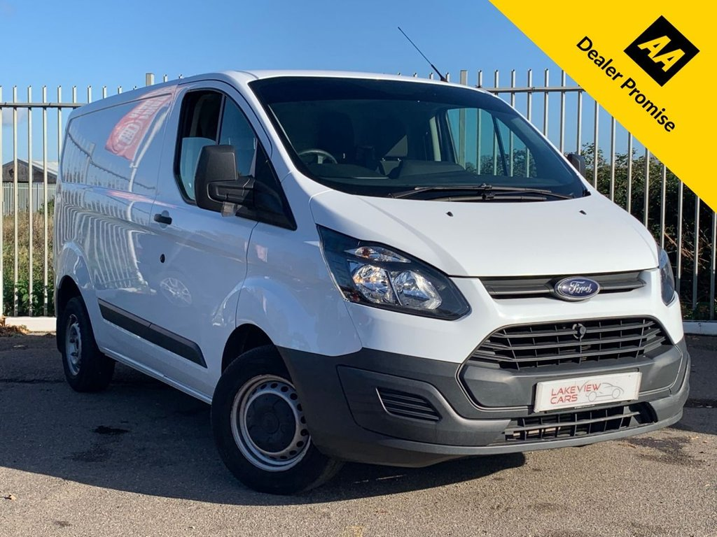 USED 2016 16 FORD TRANSIT CUSTOM 2.2 270 LR P/V 99 BHP