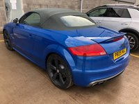 USED 2009 09 AUDI TT 2.0 TTS TFSI QUATTRO 2d Petrol Convertible in Great Condition for Age & Mileage. Recent Service & MOT, 4 New Tyres, New Brakes & Wipers   A BEAUTIFUL CONVERTIBLE SPORTS CAR IN TURBO BLUE WITH FANTASTIC SPECIFICATION