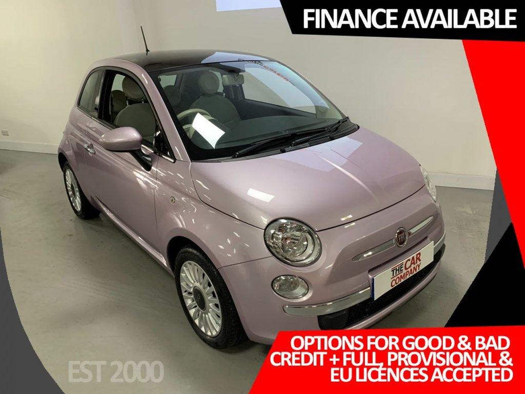 USED 2012 62 FIAT 500 1.2 C LOUNGE DUALOGIC 3d 69 BHP * LOW MILES * AUTO * FSH * PAN ROOF *
