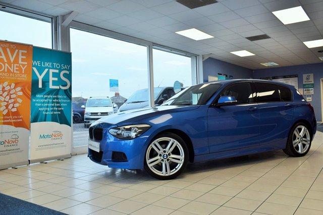 2012 62 BMW 1 SERIES 2.0 120D M SPORT 5d 181 BHP AUTO