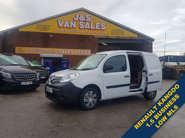USED 2016 66 RENAULT KANGOO 1.5 ML19 BUSINESS DCI 90 BHP 1 OWNER LOW MLS  BIG STOCK EURO 6 OVER VANS OVER 100 ON SITE