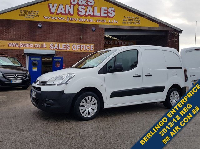 USED 2012 12 CITROEN BERLINGO  625 ENTERPRISE L1 HDI  3 SEATER  ## NO VAT ## ###### BIG STOCK EURO 5/6 OVER VANS OVER 100 ON SITE #######