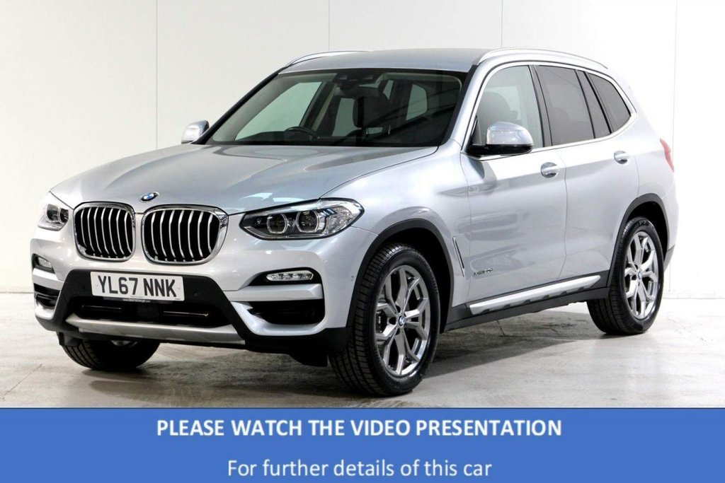 USED 2017 67 BMW X3 2.0 20d xLine Auto xDrive (s/s) 5dr *NEW SHAPE*/MEMORY SEATS/A.C.C