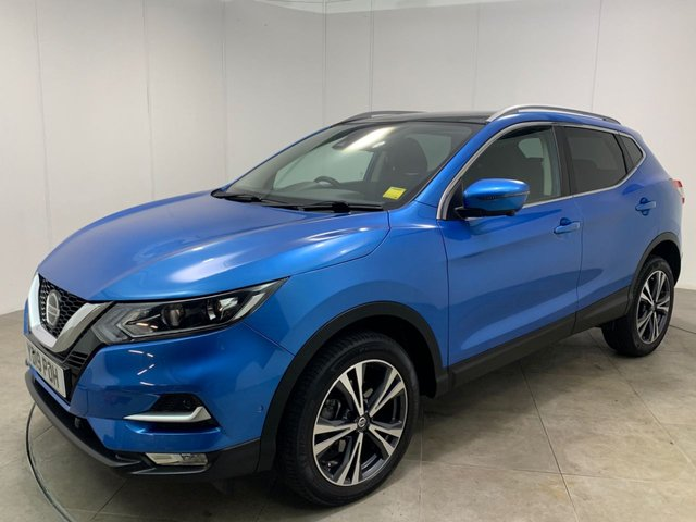 NISSAN QASHQAI at Peter Scott Cars