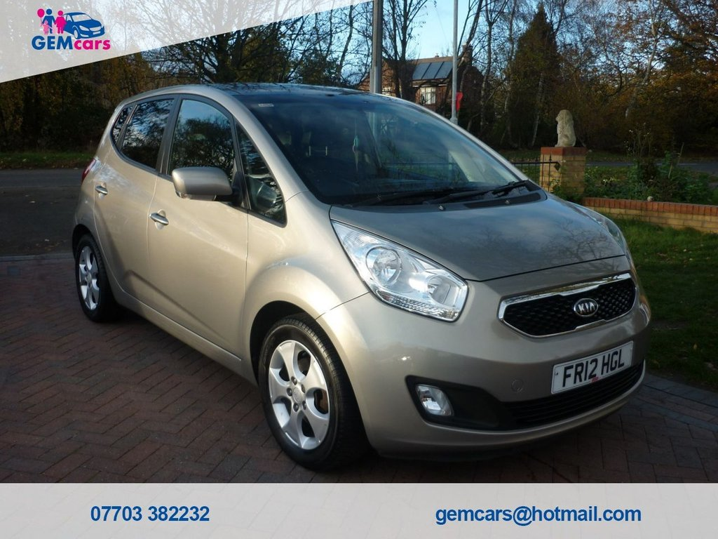USED 2012 12 KIA VENGA 1.6 3 5d 123 BHP GO TO OUR WEBSITE TO WATCH A FULL WALKROUND VIDEO