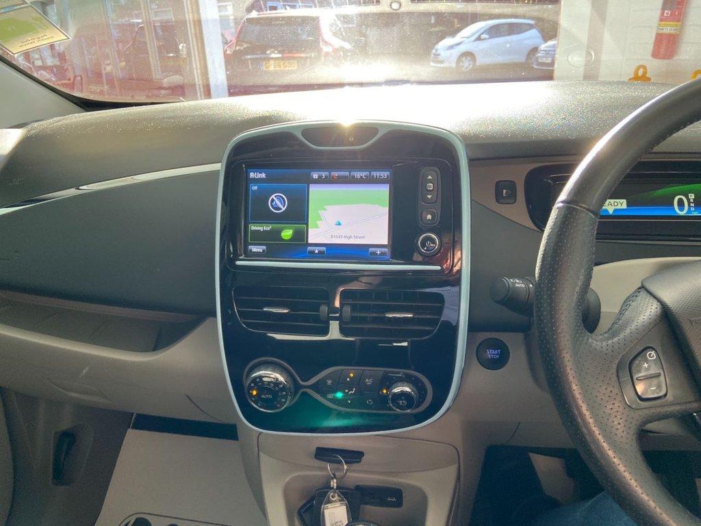 USED 2015 65 RENAULT ZOE 0.0 DYNAMIQUE NAV 5d 92 BHP Range upto 130 miles