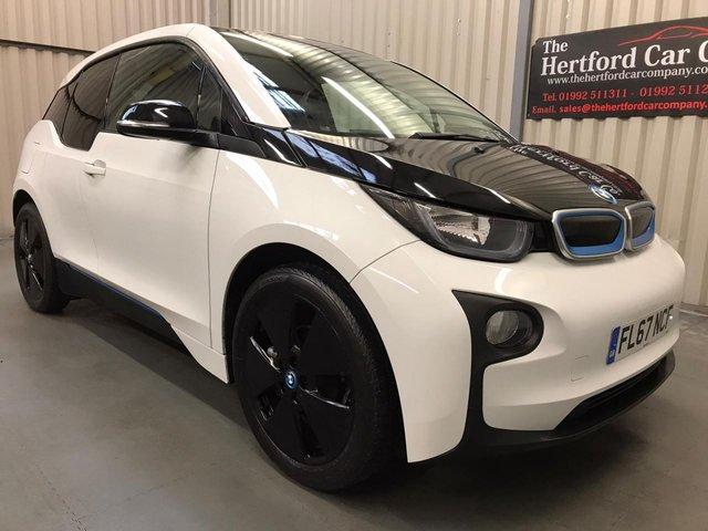 2017 67 BMW I3 0.0 I3 94AH 5d 168 BHP