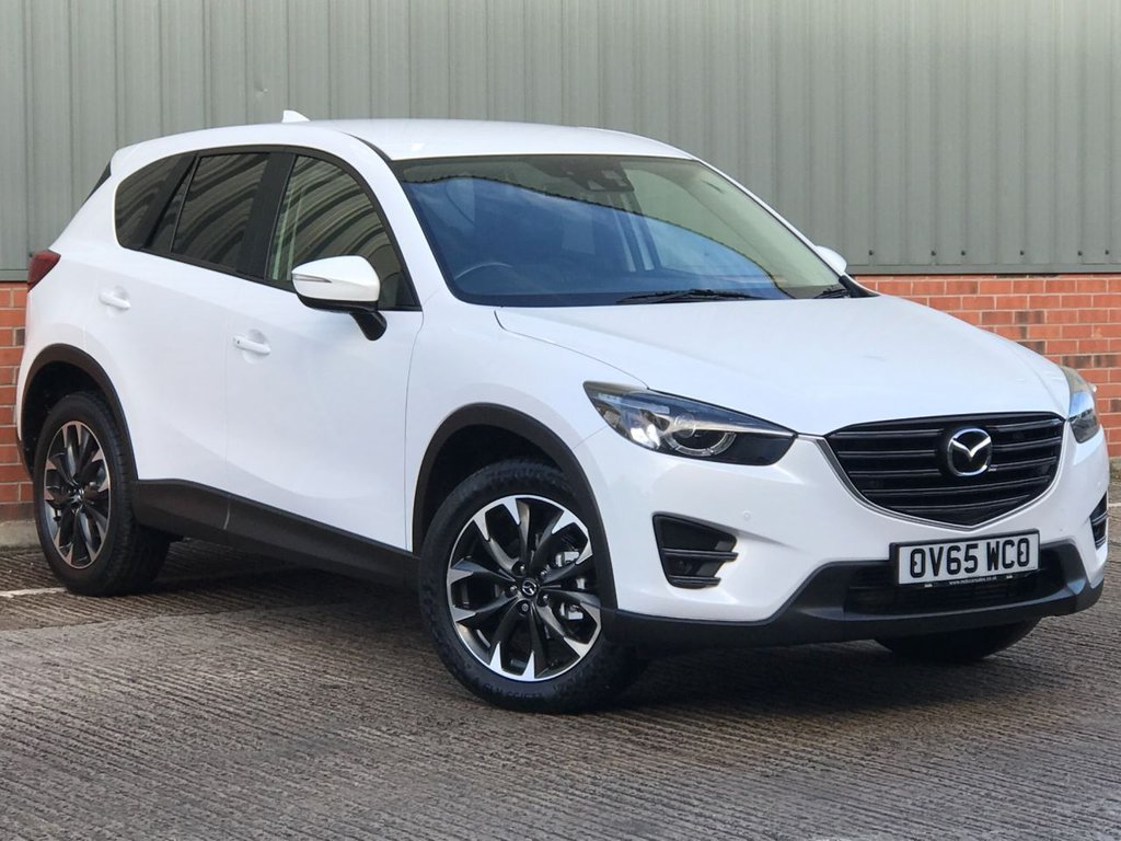 USED 2015 65 MAZDA CX-5 2.2 D SPORT NAV 5d 148 BHP EXCELLENT LOW MILEAGE EXAMPLE