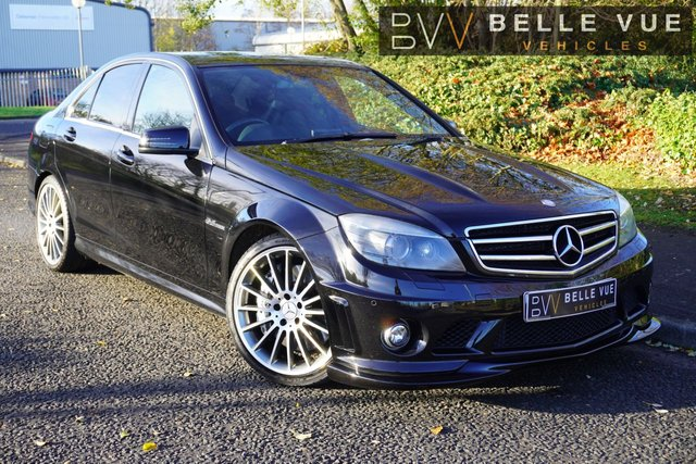 USED 2008 58 MERCEDES-BENZ C-CLASS 6.2 C63 AMG 4d 457 BHP *AMG PERFORMANCE PACK, 11 SERVICE RECORDS!*