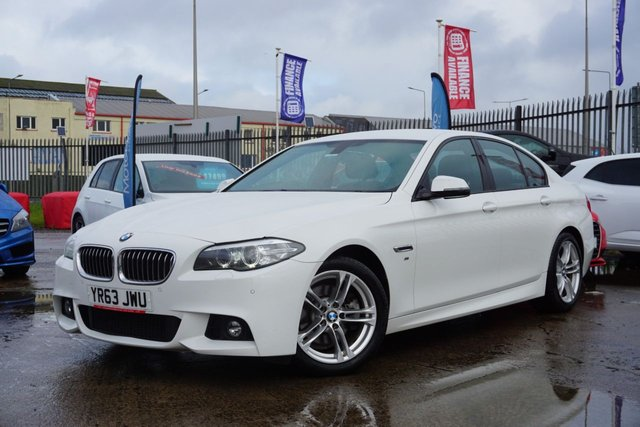 USED 2013 63 BMW 5 SERIES 2.0 520D M SPORT 4d 181 BHP *STUNNING EXAMPLE, DRIVES SUPERB*