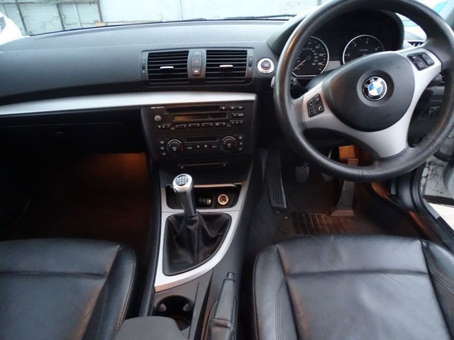 USED 2005 05 BMW 1 SERIES 2.0 120D SE 5d 161 BHP FULL LEATHER