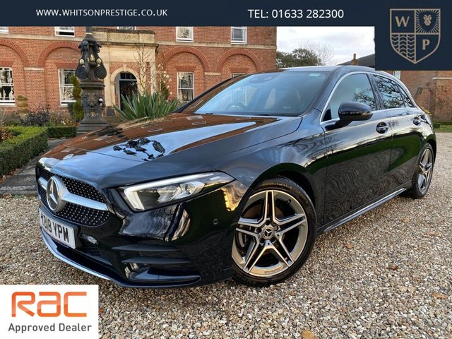2018 18 MERCEDES-BENZ A-CLASS 1.5 A 180 D AMG LINE EXECUTIVE 5d 114 BHP
