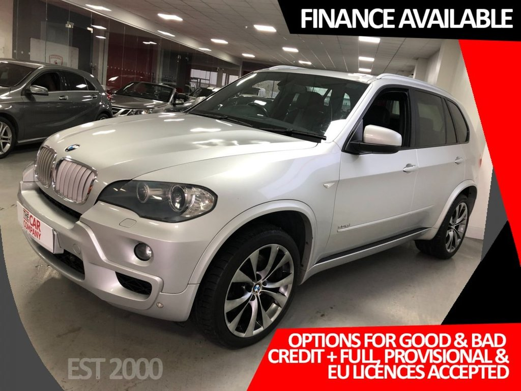 USED 2008 08 BMW X5 3.0 SD M SPORT 5d 282 BHP * FULL BMW HISTORY * HUGE SPEC *