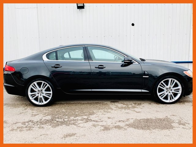 USED 2010 60 JAGUAR XF 3.0 V6 PREMIUM LUXURY 4d 240 BHP FULL SERVICE HISTORY - 12 MONTH MOT - HEATED LEATHER SEATS - ACOUSTIC PARKING SENSORS - SATELLITE NAVIGATION - 3 MONTH MOT