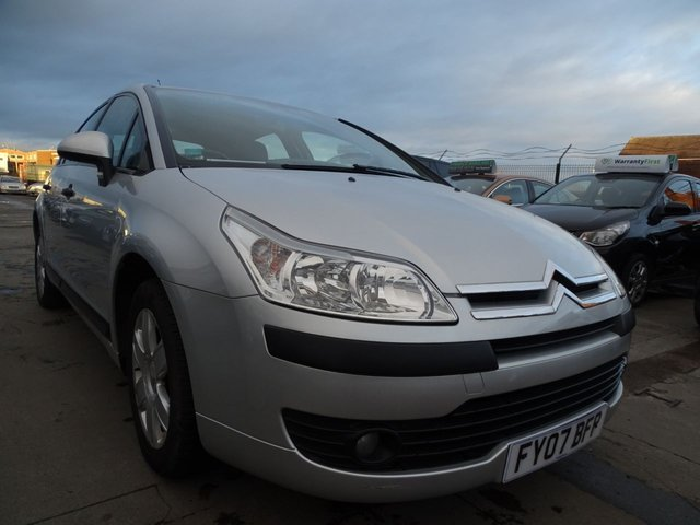 USED 2007 07 CITROEN C4 1.6 SX HDI EGS 5d 108 BHP AUTOMATIC 1 OWNER