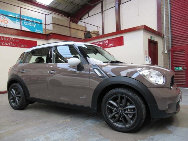 USED 2010 60 MINI COUNTRYMAN 1.6 Cooper S ALL4 5dr ***38000 MILES F/S/H***